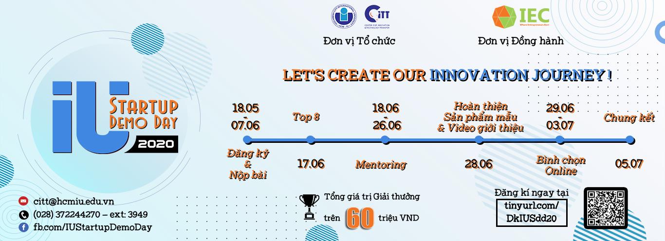 Giới thiệu chương trình IU-StartUp Demo Day năm 2020