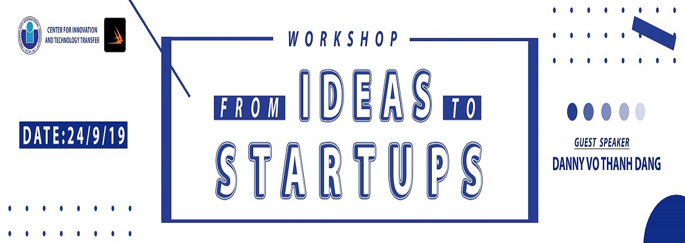 "Seminar ""From Ideas to Startups"" at International University"