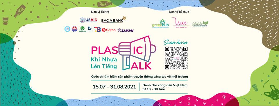 Cuộc thi Plastic Talk - Khi nhựa lên tiếng