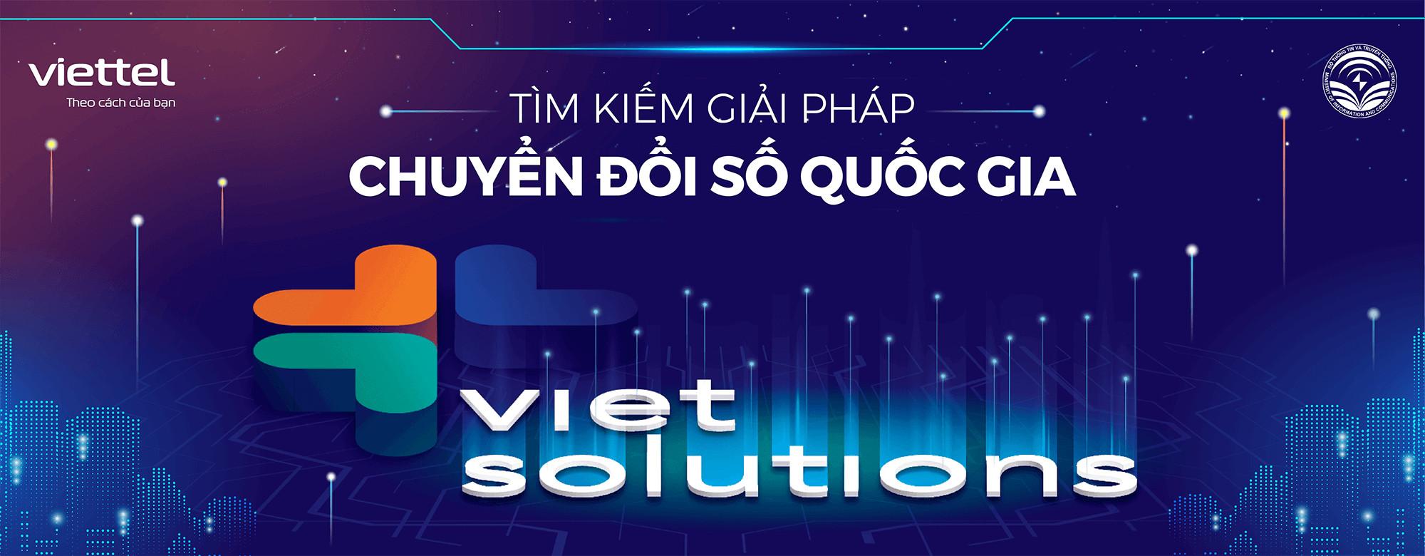 VIETTEL KHỞI ĐỘNG CUỘC THI TÌM KIẾM GIẢI PHÁP CHUYỂN ĐỔI SỐ QUỐC GIA: VIET SOLUTIONS 2021