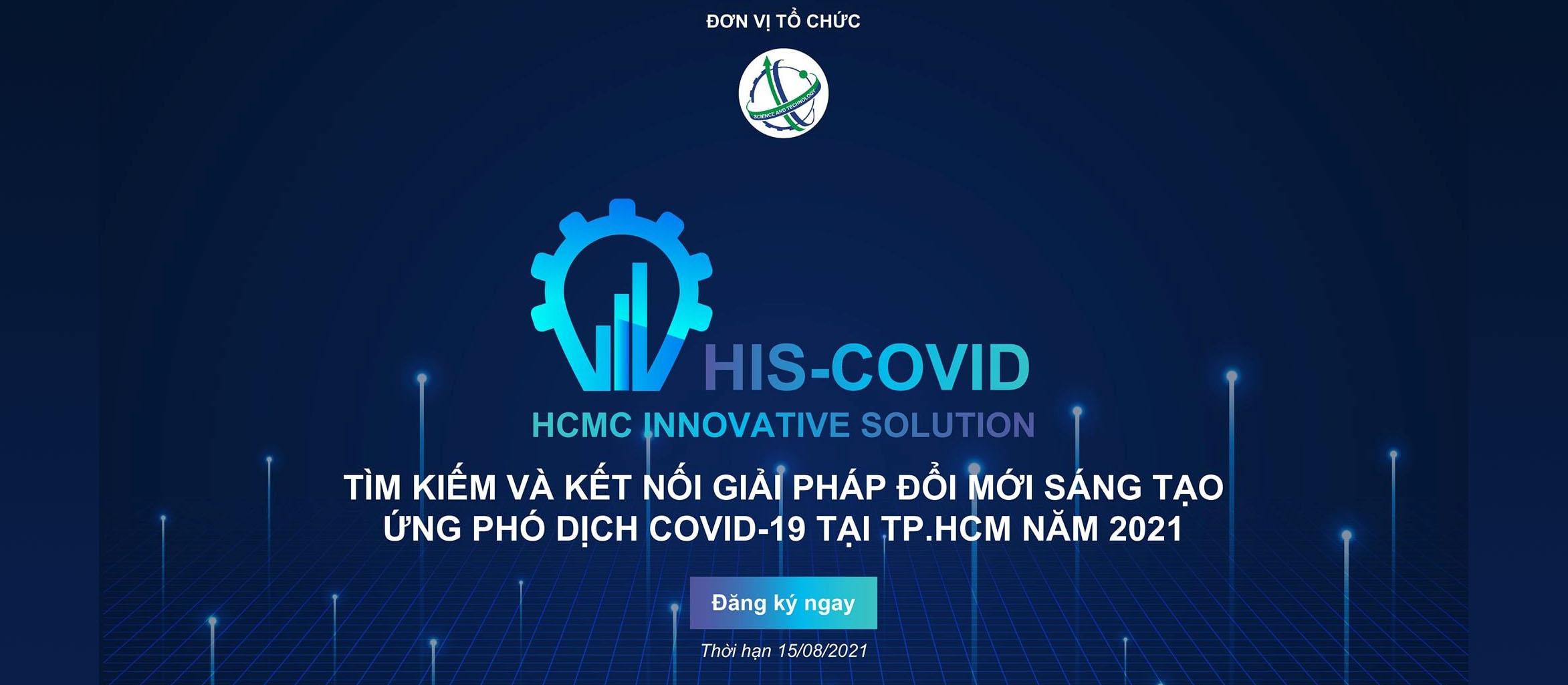 """TP HCM TRIỂN KHAI HIS-COVID 2021 - """"QUỸ VACCINE GIẢI PHÁP SÁNG TẠO & CÔNG NGHỆ"""